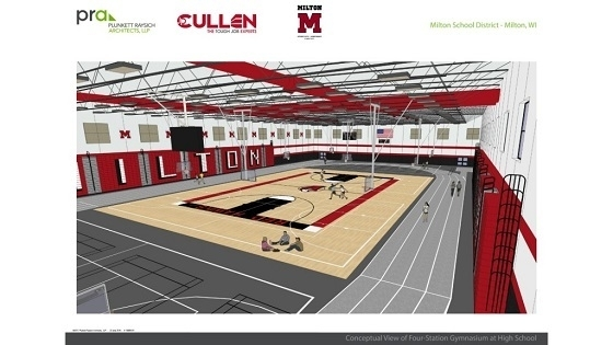 Milton High School Addition & Remodeling